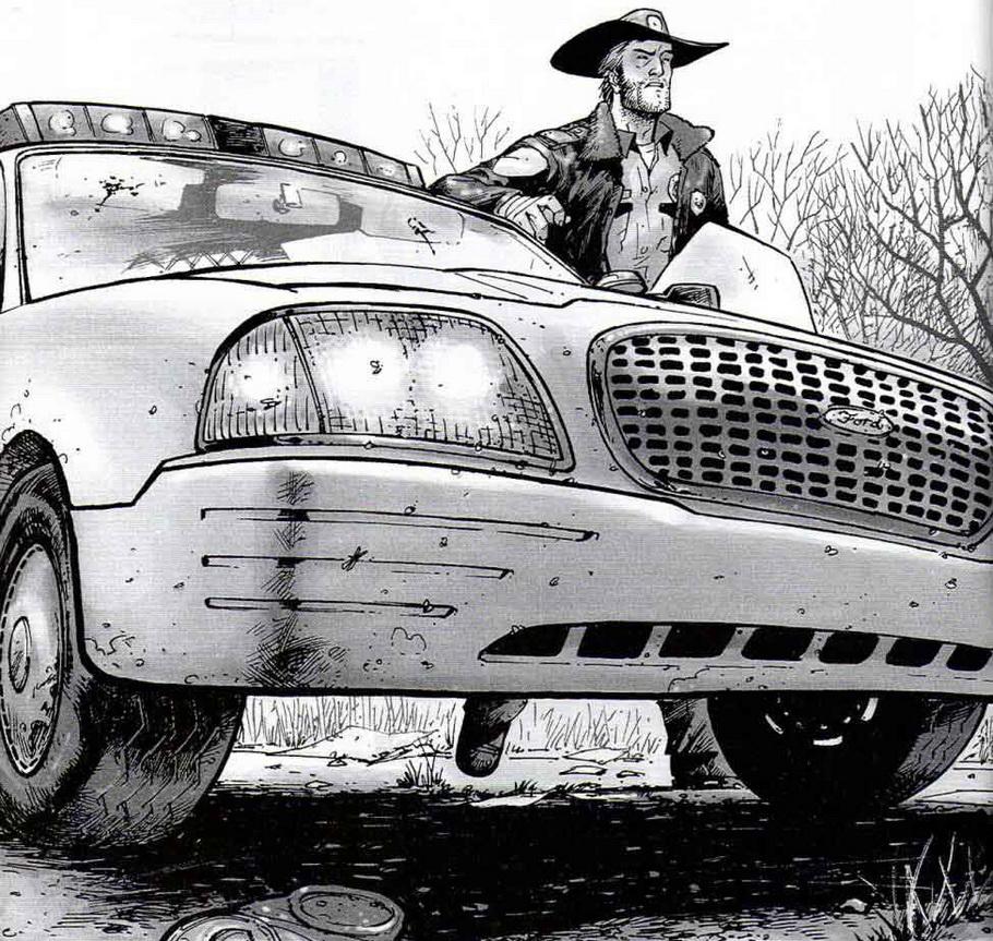 Обзор на комикс 'Ходячие мертвецы. Дни минувшие'