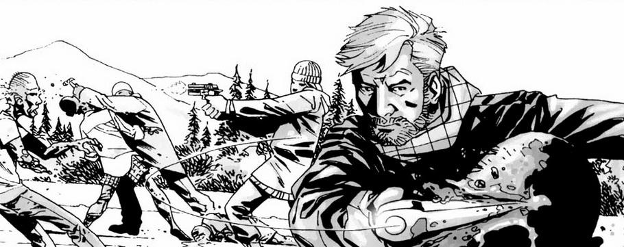Обзор на комикс 'Ходячие мертвецы. Мили позади'