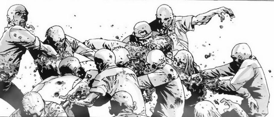 Обзор на комикс 'Ходячие мертвецы. В безопасности за решеткой'